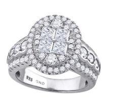 Modeschmuck-Ringe im Verlobung-Stil aus Sterlingsilber