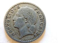 1946 France Five (5) Francs Coin