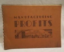 A.B. Dick Company, Manufacturing Profits Booklet, 1940, Qty 1,  M-40-151