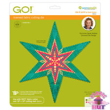Accuquilt GO! Fabric Cutting Die Star 6 Six Point by Sarah Vedeler 55312