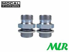 MOCAL MMS3-8-8 1/2-1/2 BSP OIL COOLER REMOTE FILTER SANDWICH PLATE FITTINGS QP