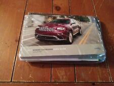 New Listing2017 Jeep Grand Cherokee Owners Manual