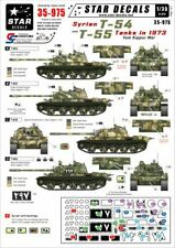 Star Decals 1/35 Syrian T-54 and T-55 Tanks in Yum Kippur War 1973