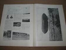 *** L'Illustration (d) 3364 (17/08/1907) - Dirigeable Allemand / Maroc / Comète