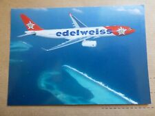 EDELWEISS  AIRBUS A 330   / CARTE COMPAGNIE / AIRLINE ISSUE