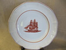 WEDGWOOD FLYING CLOUD RUST GEORGETOWN COLLECTION DINNER PLATE VERY GOOD COND.