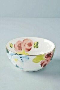NWT Anthropologie Anais Floral Bowl