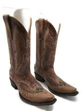 Idyllwind Trouble By Miranda Lambert Womens Brown Leather Cowgirl Boots Size 8 B