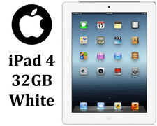 Apple White iPad 4th Generation | 32GB WiFi Only Tablet | 9.7In | Trusted Seller