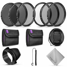 52MM Altura Photo UV CPL ND4 Filter Kit w/ Altura Photo ND Filter Kit