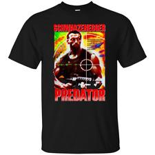 Predator, Arnold Schwarzenegger, Retro, 80's, Eighties, Action Movie, Commando,