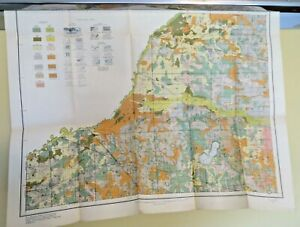 Antique Map 1915 Starke County Indiana Hamlet Knox N Judson San Pierre #13037