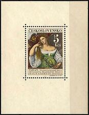 Cecoslovacchia 1965 SG #MS 1511 cultura MNH M / S #D 40324