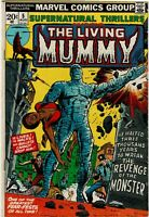 Supernatural Thrillers #5 - 1st appearance of the Living Mummy - VG Minus