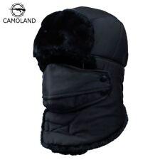 Winter Warm Hats Caps Scarf Men Women Russian Trapper Hat Trooper Snow Ski Cap