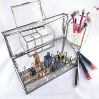 JC MAN Makeup Organizer Lipstick Holder Cotton Pad Holder Brush Holder Pearls