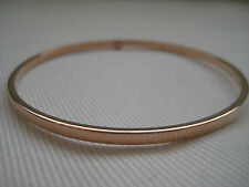 """Less than 7"""" Rose Gold Fine Bracelets without Stones"""