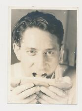 New Listing1950's or Earlier Unusual 5x7 Vintage Photo the Mustard is about to Splat