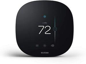 ecobee 3 Lite Thermostat BlackSmart Phone Compatible