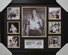 BRUCE LEE SIGNED AND FRAMED LIMITED EDITION
