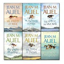 Jean M Auel 6 Books Earths Children Collection Pack Set