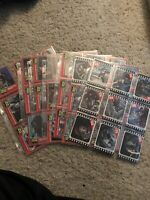 1976 TOPPS KING KONG Near Complete Trading Card 54/55 & Near Sticker Set 10/11.