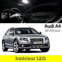 Kit éclairage intérieur ampoules à LED Blanc pour Audi A4 B8 Allroad Quattro