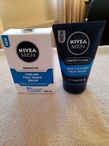 Nivea Men Cooling Post Shave Balm & Face Wash