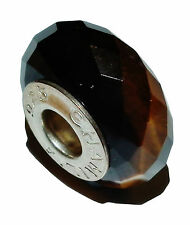 Pre-Owned Genuine CHAMILIA Silver &Tigers Eye 'Golden Brown' Bead - #1