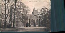Oxford Balliol college from gardens valentine