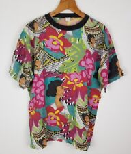 VINTAGE RETRO 90'S BRIGHT BOLD CRAZY USA FRESH PRINCE T SHIRT TOP