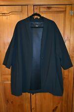 AUTOGRAPH M&S  black Oversized Blazer Jacket Coat - size 12 / worn once
