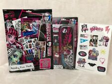 MONSTER HIGH ACTIVITY & STATIONERY PACK *brand new*