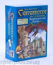 Carcassonne 3. Erweiterung - Burgfräulein und Drache Hans im Glück NEU OVP