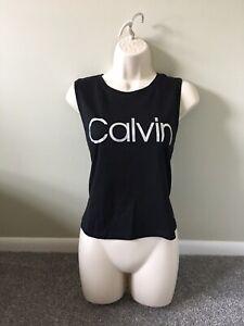 Calvin Klein Black Performance Active Gym Muscle Tank (XXL)