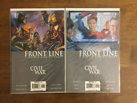 Civil War Front Line (2006) #1, 2 x2 Issues Marvel Comics