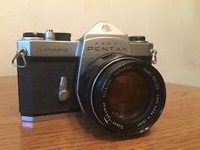 Pentax Spotmatic 35mm Slr Film Camera with 50mm M42 Super Takumar 1.4 Lens!