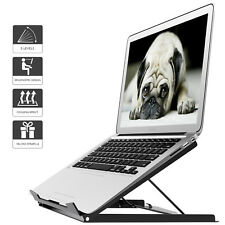 Adjustable Laptop Tablet Stand Notebook Riser Holder Ergonomic Portable MacBook