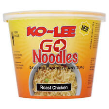 Ko-Lee Go Cup Pot Noodles Chicken Flavour 65g x 6 Pack | BBE 08/07/2019