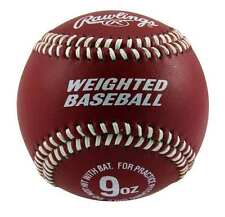 WEIGHTED BASEBALL ~ (1) Official Rawlings 9 Ounce Training Baseball ~ New!