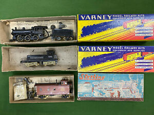 Vintage HO Varney and Sterling Engines and Caboose