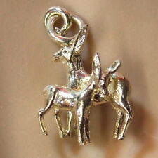 9 KT GOLD NUOVO Deer & Fawn Charm