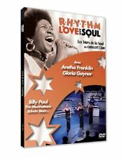 Rhythm, Love and Soul (R&B Concert) Aretha Franklin, etc * Region 2 (UK) DVD New