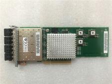 IBM 4 PORT 8 GBPS PCI-E FIBRE CHANNEL CARD FOR V7000 G2 P/N - 00MJ027 00MJ028