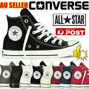 Converse Men's Women's Trainers High Tops Chuck Taylor All Star Casual Shoes AU