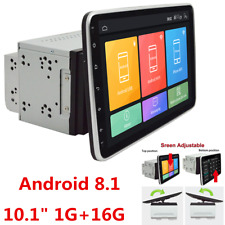 "Puede girar 10.1"" Android 8.1 doble DIN coche estéreo Bluetooth Wifi MP5 GPS Reproductor"