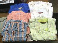 6 Used Western Ladies Shirts Size M Cowboy Shirt Cruel Girl Wrangler Rockies NR