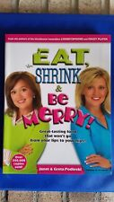 NEW BOOK: EAT SHRINK & BE MERRY Diet Cookbook of the Decade! New Year Resolution
