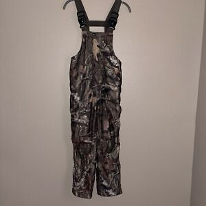 Game Winner Youth boys Small thick Insulated Camo Hunting Bibs Overalls