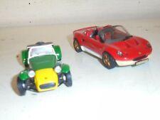 Dagostini/Ixo similar 1:43# Lotus x 2-  Lotus Seven & Lotus Elise - good unboxed